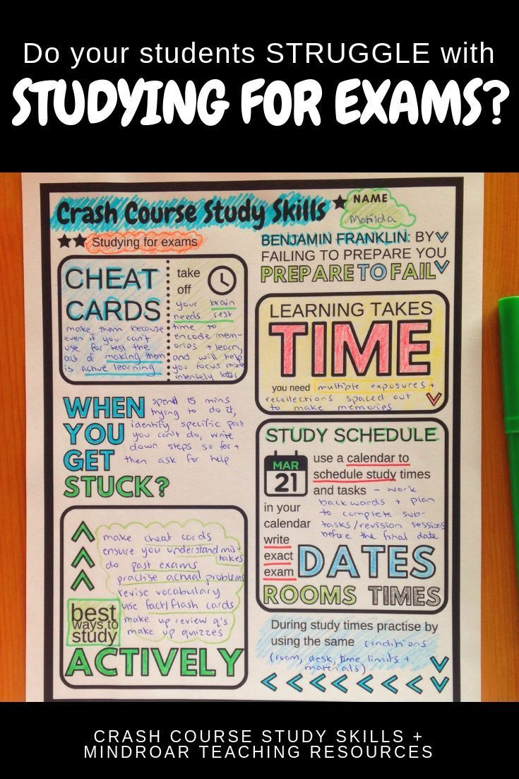 learning styles and study skills worksheet
