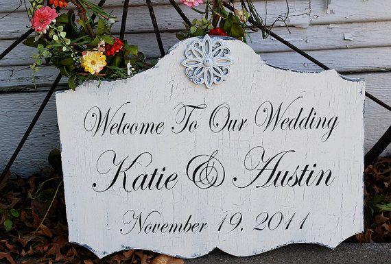 sign for wedding! #wedding