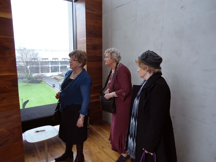 Carmel Heneghan, Kathleen Ryder and Josie Conway visiting the exhibition in March 2013