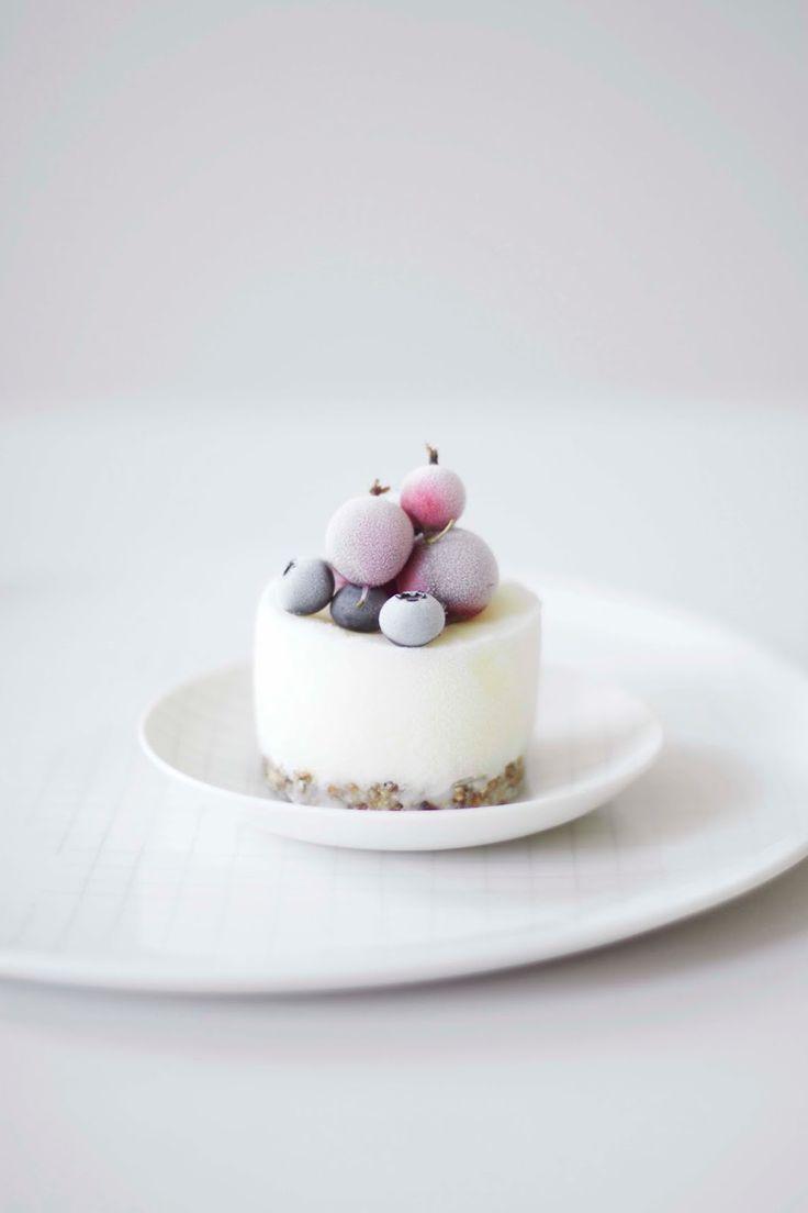 ... mini frozen yogurt cake ...