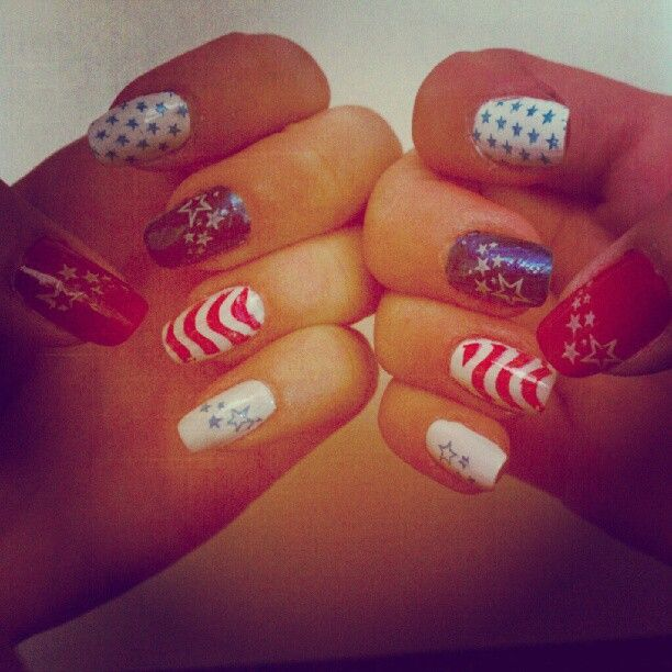 cheetorad's festive tips. Show us your 4th of July-inspired nails! Tag your pic #SephoraNailspotting to be featured on our social sites.