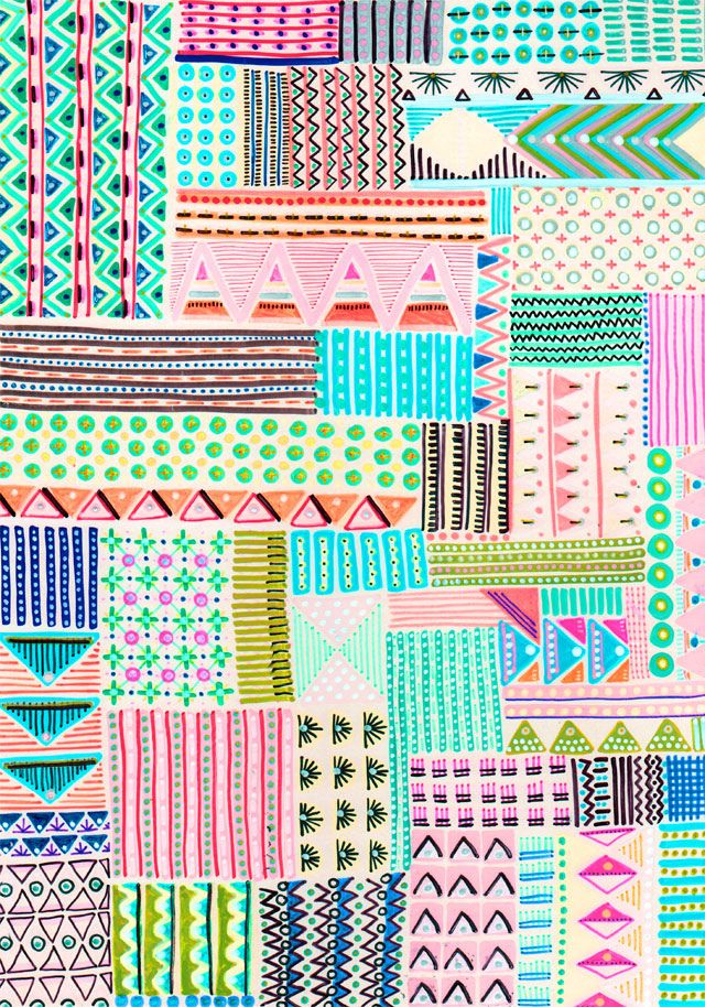 Blink Blink   Handmade Patterns print pattern