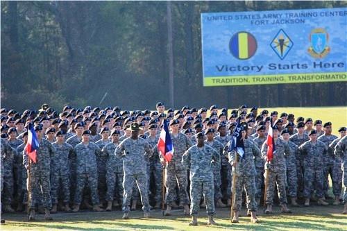 Ft. Jackson, South Carolina - Basic Training Graduation