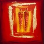 Abstract oil Painting style by artist