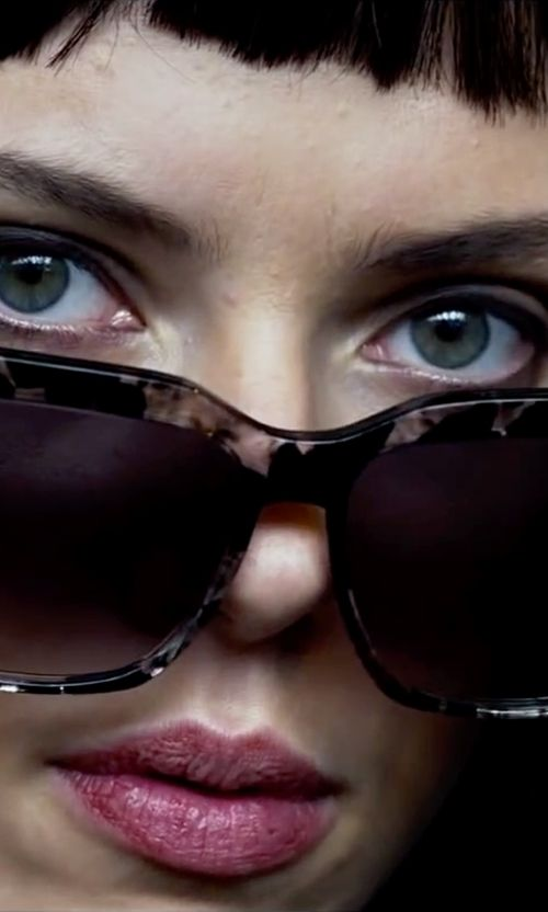 Peter & May Walk Marble Effect Sunglasses as seen on Lucy in Lucy | TheTake.com
