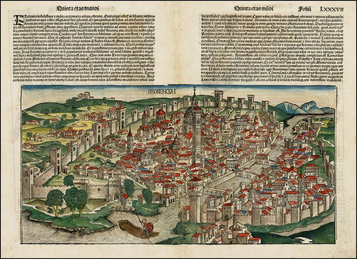 Hartmann Schedel:  Florencia 1493