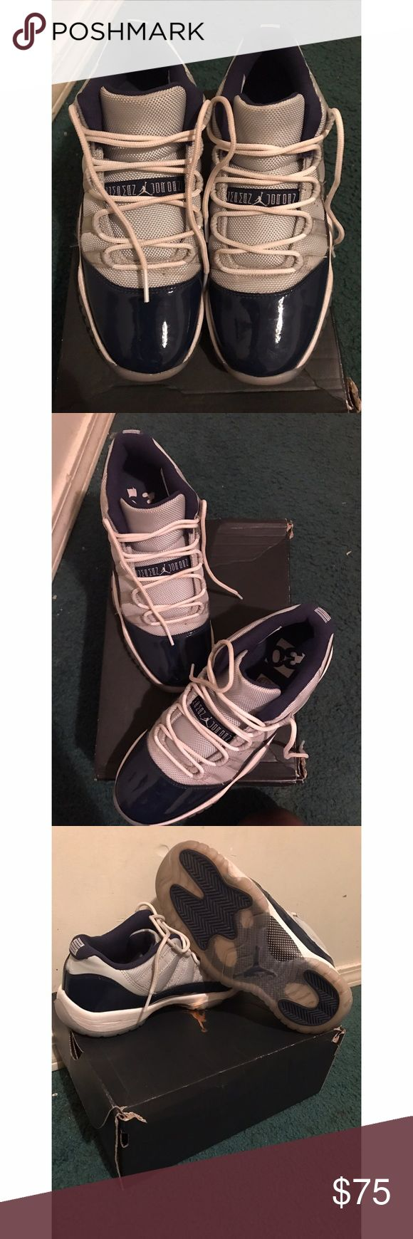 Air Jordan Retro 11 Low Top I'm great shape only worn 3 times . Jordan Shoes Sneakers