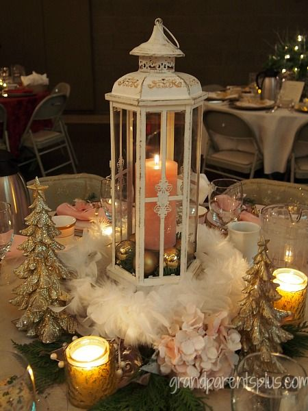 Top 25 Ideas About Christmas Tablescapes On Pinterest