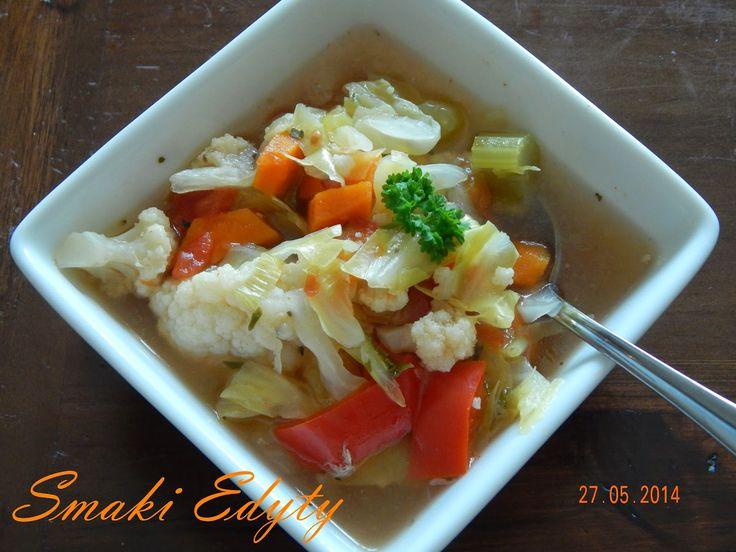 Smaki Edyty: Zupa spalająca tłuszcz