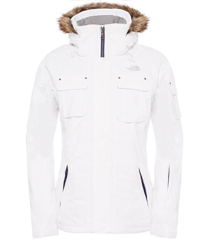 The North Face Baker Women's Ski/Snowboard Jacket, M, TNF White