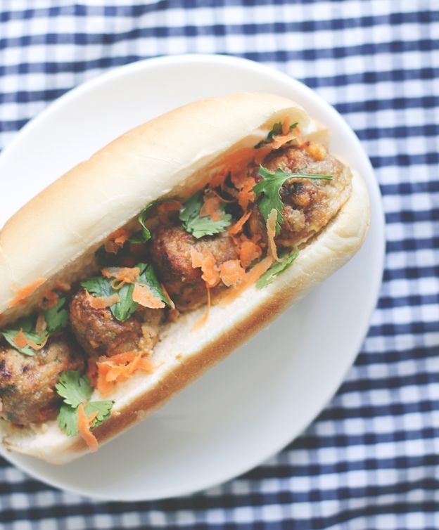 Not Your Standard Meatball Sub