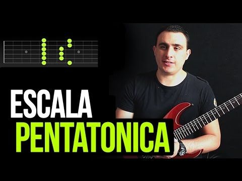 ESCALA PENTATONICA MENOR - YouTube