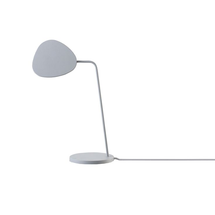 Leaf bordslampa, grå i gruppen Rum / Kontor / Kontorsbelysning hos RUM21.se (123339)