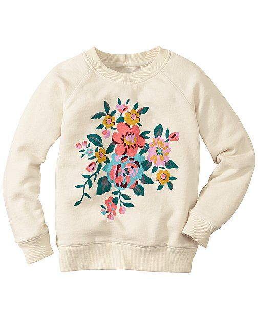 Art Sweatshirt In 100% Cotton from #HannaAndersson.