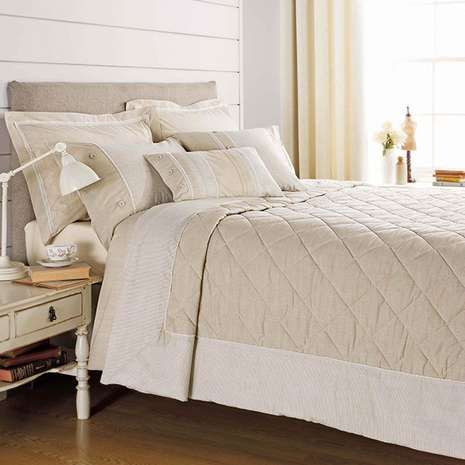 Natural Millie Bed Linen Collection