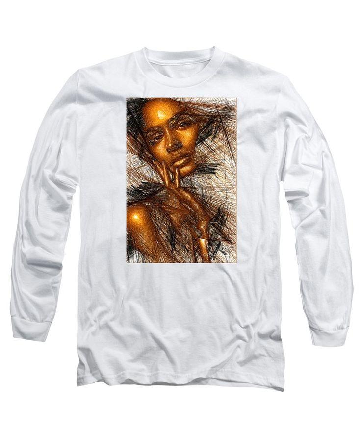 Long Sleeve T-Shirt - Gold Fingers
