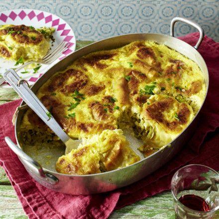 Zucchini-Börek mit Feta Rezept