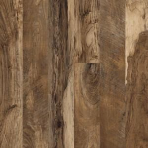 Hampton Bay Maple Grove Natural 12 Mm Thick X 6 3 16 In Wide X 50 1 2 In Length Laminate Flooring 17 40 Sq Ft Case Dark