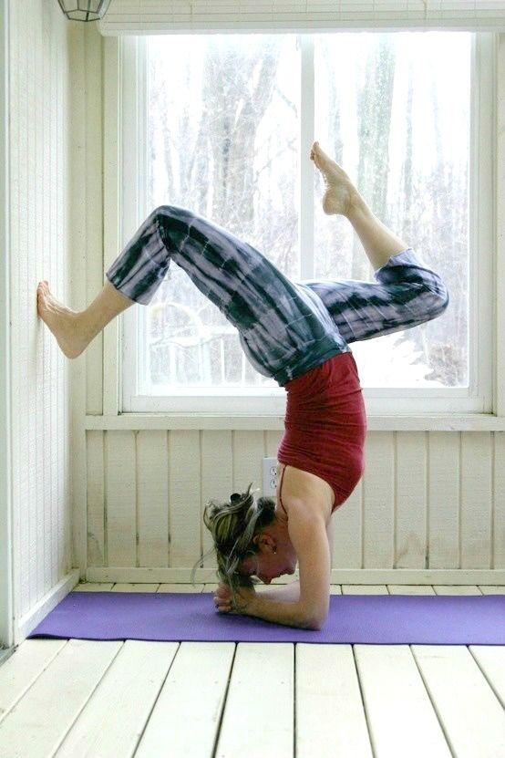 Wall Yoga Inversion