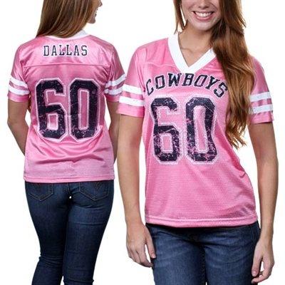 ff6023455 Dallas Cowboys Ladies Team Spirit Jersey - Pink Want it!  Fanatics ...