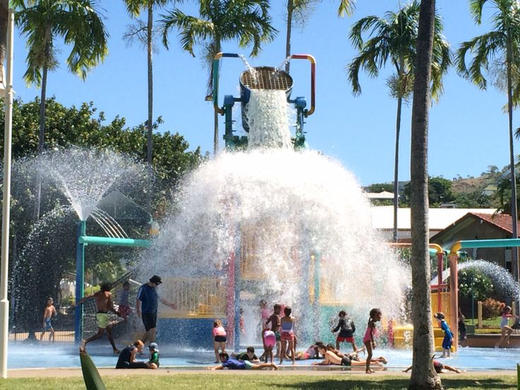 The Waterpark at the Strand..Townsville, North Queensland, Australia
