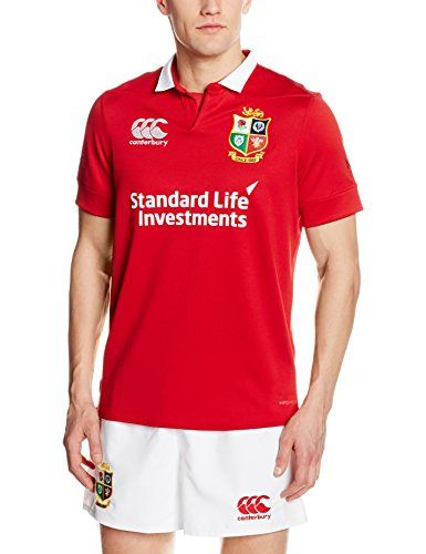 buy now   £53.99   Canterbury British And Irish Lions Vaposhield Match Day Pro Jersey Steeped in history and tradition, the Lions tour is the pinnacle of international rugby.The Canterbury Vaposhield jersey  ...Read More