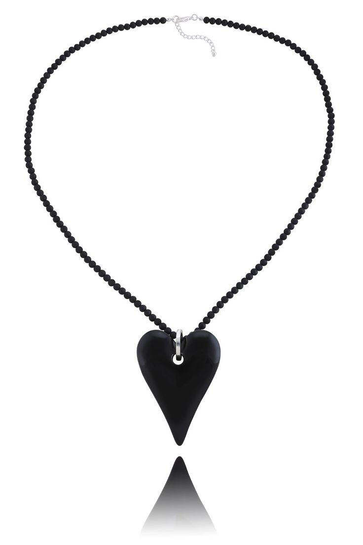 #ByDziubeka #naszynik #necklace #black #jewelry