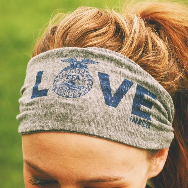 "FarmHer FFA ""LOVE"" Headband"