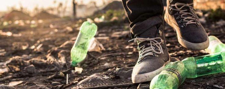 Timberland komt met schoen van plastic afval uit Haïti #ecotexduurzame kleding