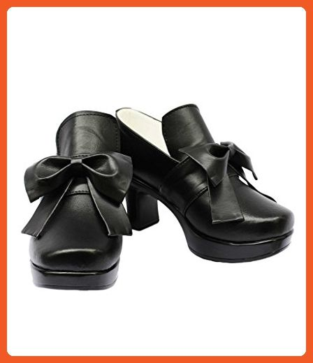 Black Butler Kuroshitsuji Cover VER Ciel Cosplay Shoes Boots Custom Made - Athletic shoes for women (*Amazon Partner-Link)