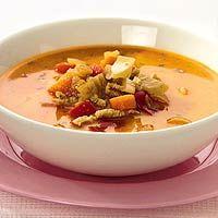 Recept - Wortel-currysoep met kalkoen - Allerhande