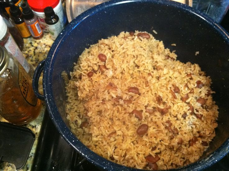 Jamaican Rice and Peas | Notes from a Home Chef | Pinterest