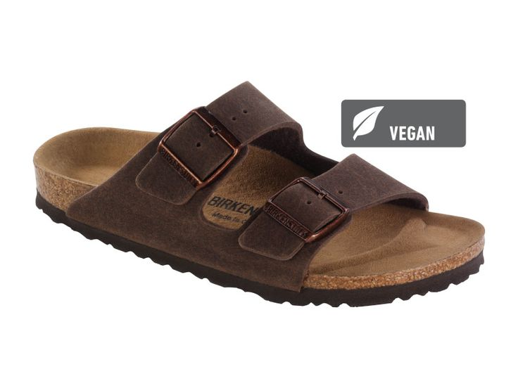 Arizona Microfibre in Cocoa Brown (Vegan Footbed - Microfibre Lined) - Birkenstock