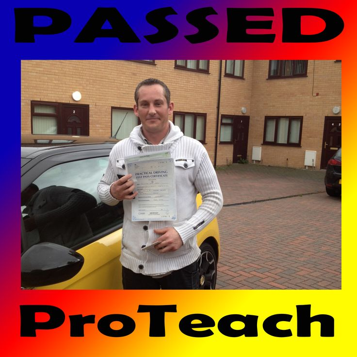 Passed 4th July 2013 Rich Kenny in Derby   Congratulations to Rich Kenny on passing his practical driving test in Derby.   Another great effort picking up only 2 driving faults.    Rich also passed on his FIRST attempt after taking his driving lessons with Simon.   Well done from Simon and ProTeach Driving School.   To book your lessons with Simon call now on 0333 577 5001   To see more passes and testimonials visit our site www.proteachdrivinglessons.co.uk