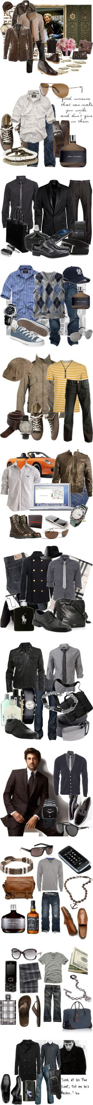 """""""men"""" by eloise ❤ liked on Polyvore"""