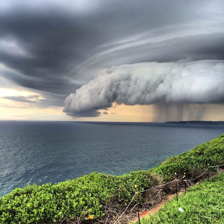 Storm front, Newcastle, NSW Australia 5th March, 2014