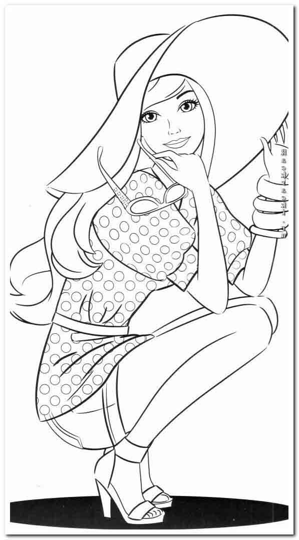 46 Coloring Pages Coloring Tips In 2020 Barbie Coloring Pages Barbie Coloring Coloring Pages