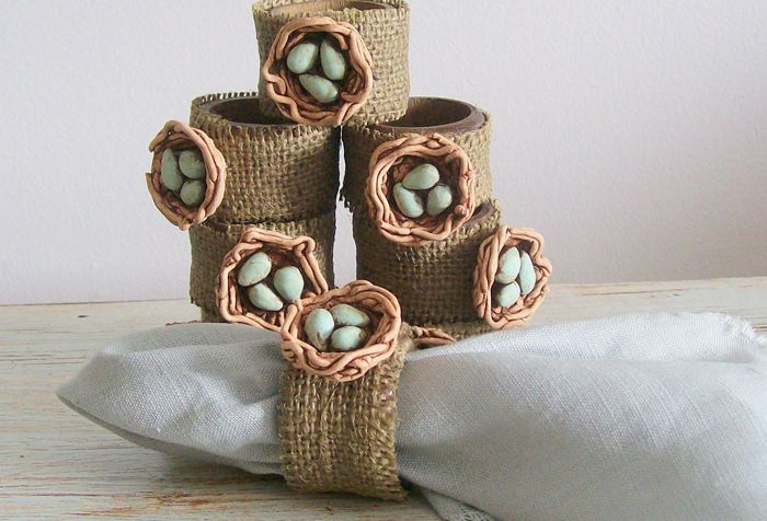 креативные кольца для салфеток