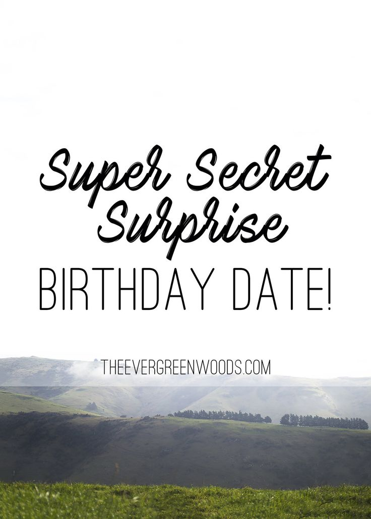 James took me on a surprise date for my birthday! I am so spoilt!