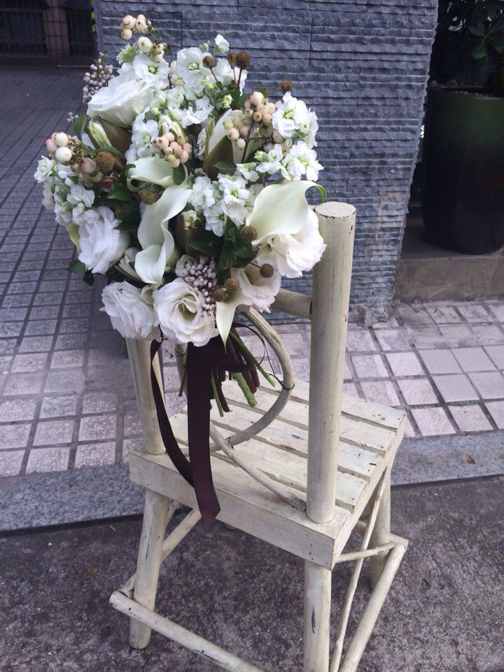 wedding deco- chair back