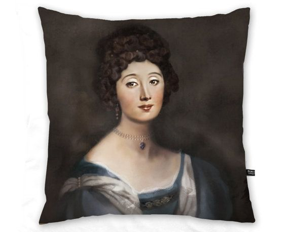 Elizabeth  free shipping  pillow case / cushion by byburgunder