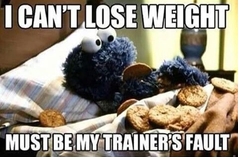 Don't eat bad food after a workout! Weight loss is 80% diet, 20% exercise!  Rethink eating that bagel or pizza after a workout!