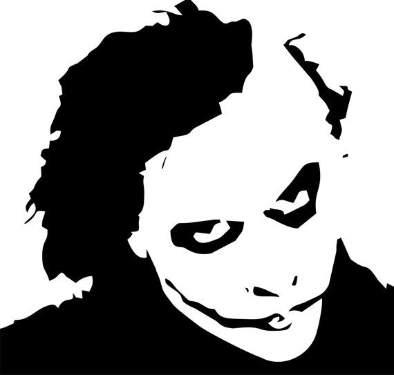 The Joker Wall Art by LynchmobGraphics on Etsy