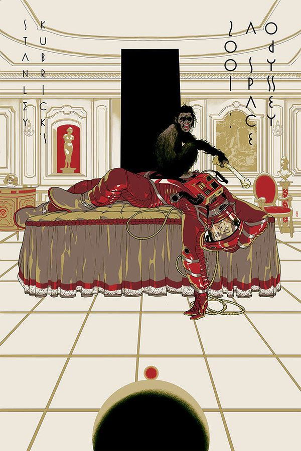 Poster Design: A Selection of Stanley Kubrick Films by Illustrator Tomer Hanuka