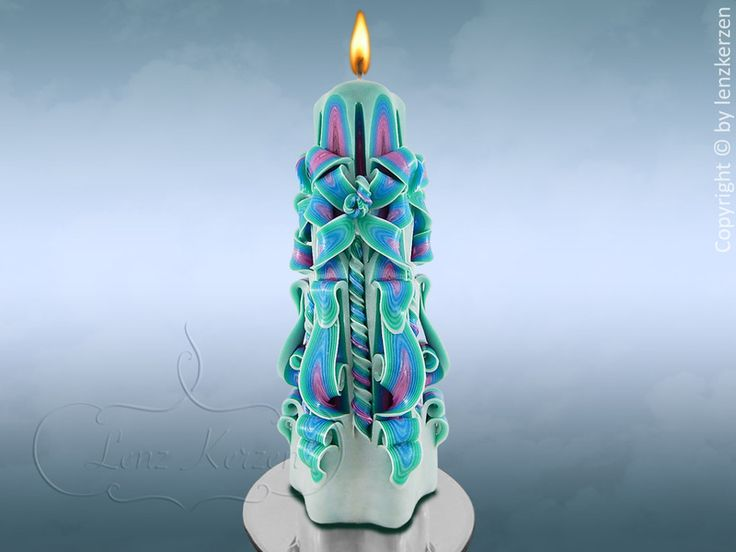 Carved candles - Unique gifts -  Wedding from Lenz candles by DaWanda.com