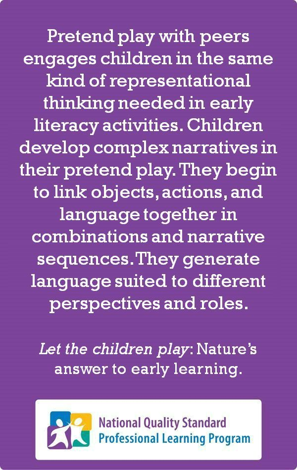 From 'Let the children play: Nature's answer to early learning'