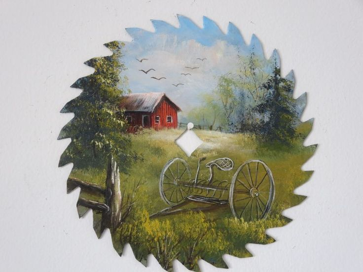 painted saw blades - Google Search