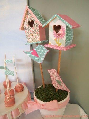 birdie baby shower room baby shower decoration ideas