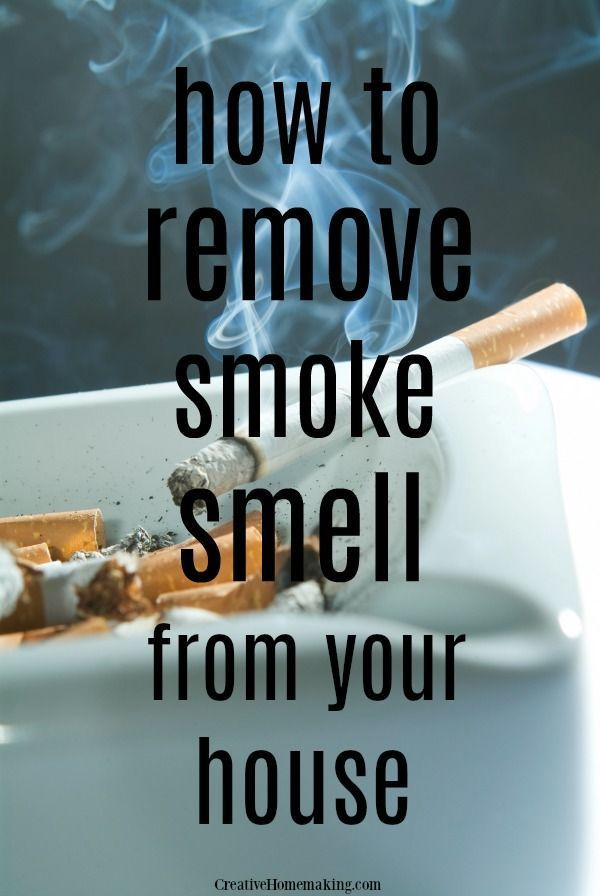 How To Remove Smoke Smell From House Smoke Smell Clean House