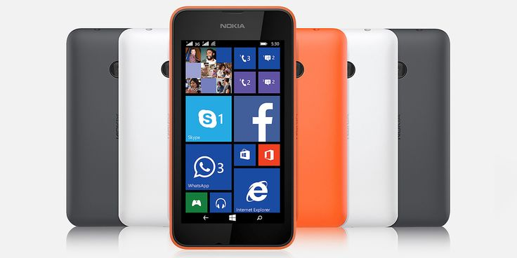 Nokia Lumia 530 Dual SIM comes with up to 30 GB of free online storage & latest version of #Windows 8.1. Price - 4599.